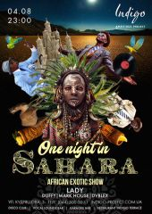 One night in Sahara!