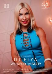 Weekend Pre-Party с Dj Elya