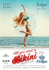 All you need is bikini!