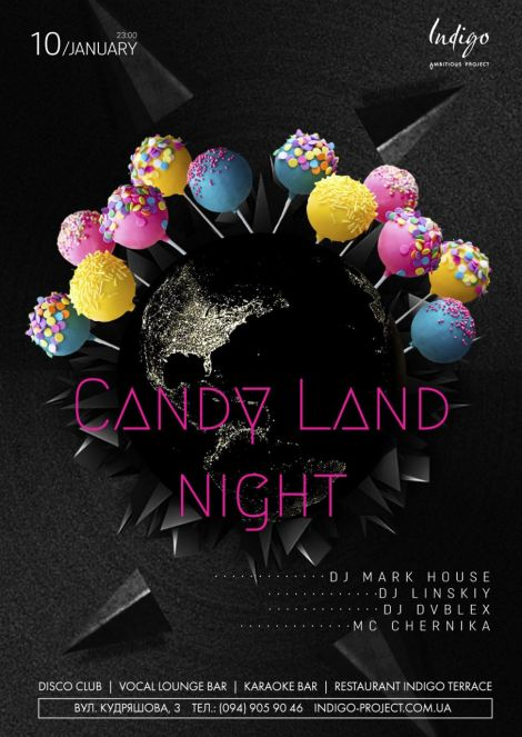 Candy Land Night