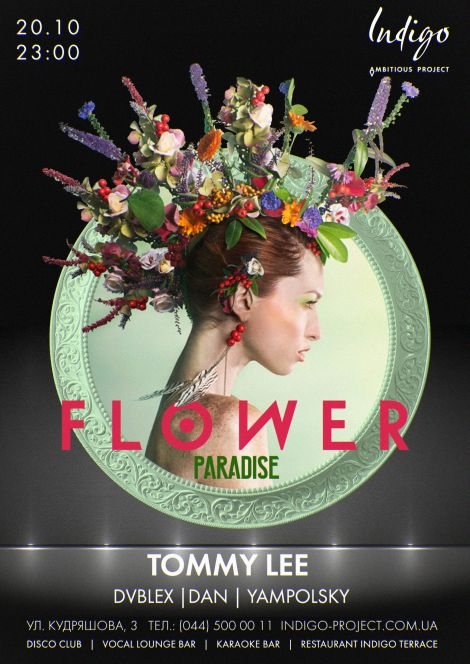 Flower Paradise. Tommy Lee