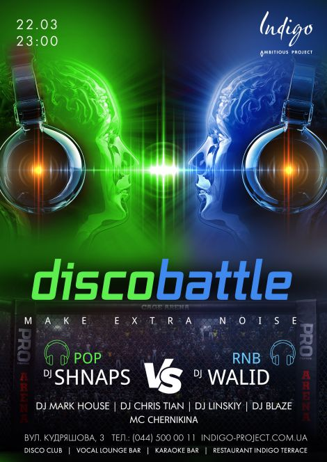 Disco Battle: Shnaps (Pop) VS Walid (RnB)