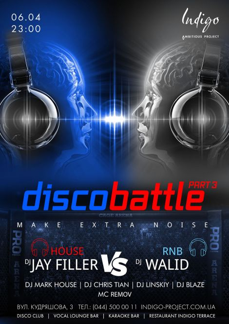 DISCO BATTLE: JAY FILLER (POP) VS WALID (RNB)