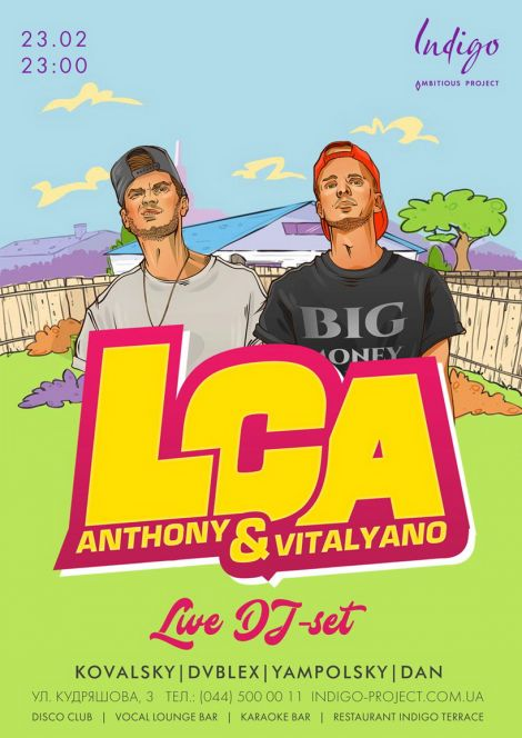 LCA Anthony & Vitalyano
