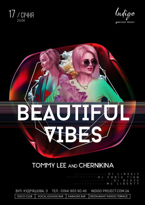 Beautiful Vibes: Tommy Lee & Chernikina