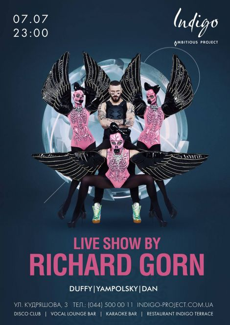Live Show by Richard Gorn!