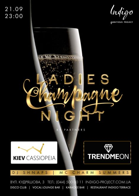 Ladies Champagne Night