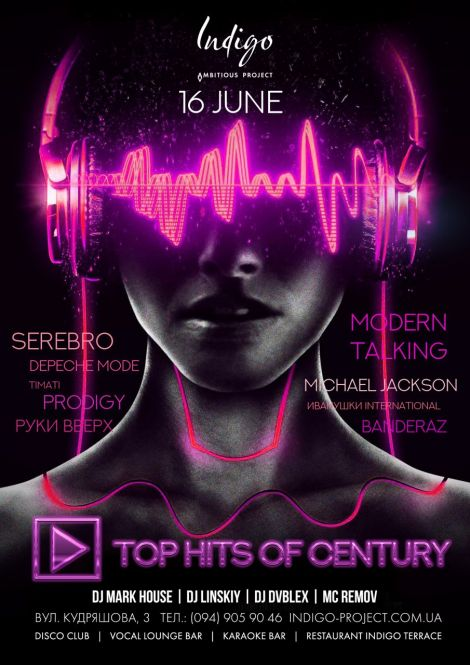 Top hits of century 80x 90x 00x