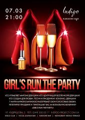 Girl's run the party